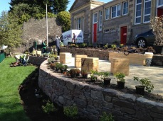 Planting Day with volunteers from Beautiful Perth