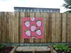 Mural by Young People from Stathmore Centre For Youth Development