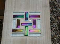 Mosaic Inset by Young People from Stathmore Centre For Youth Development